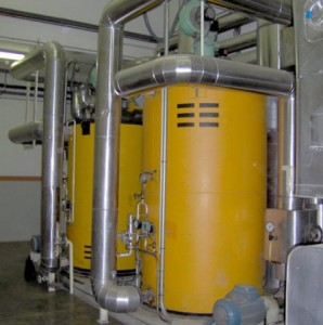 Calderas de aceite termico o fluido termico
